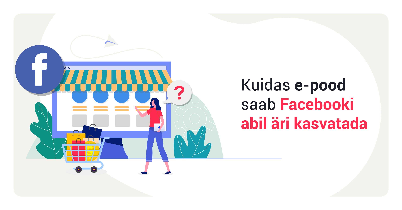 E-poe kasvatamine Facebooki reklaamid