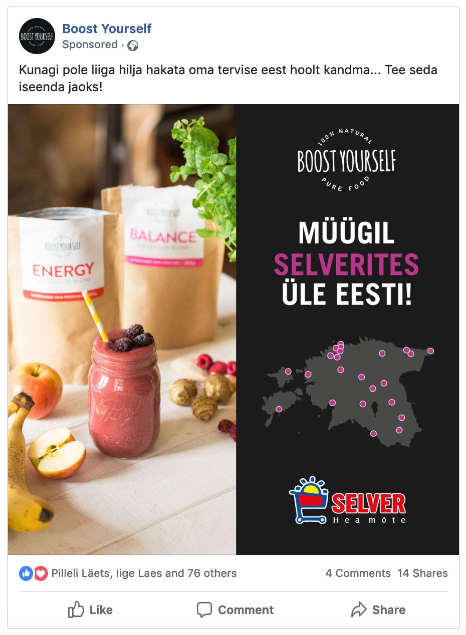 Facebooki reklaamid - Nullist