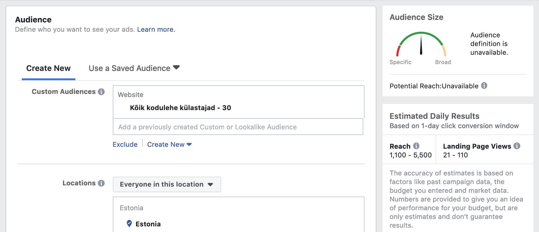 Facebooki reklaamid ja taasturundus