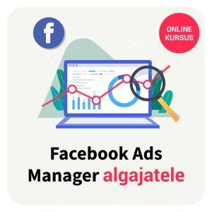 Facebook Ads Manager koolitus